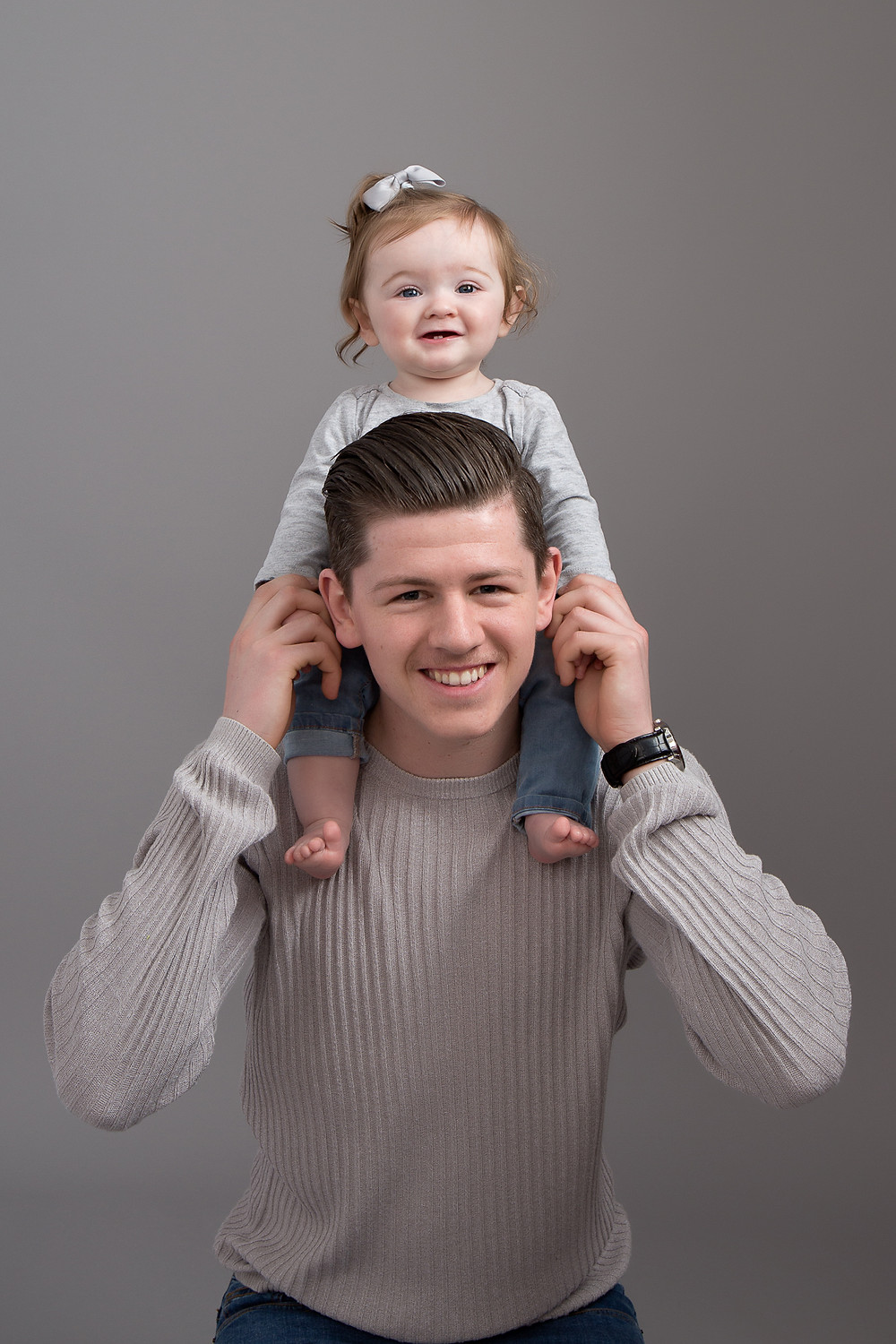 Daddy and his little girl Petite Portraits Photography Sheffield