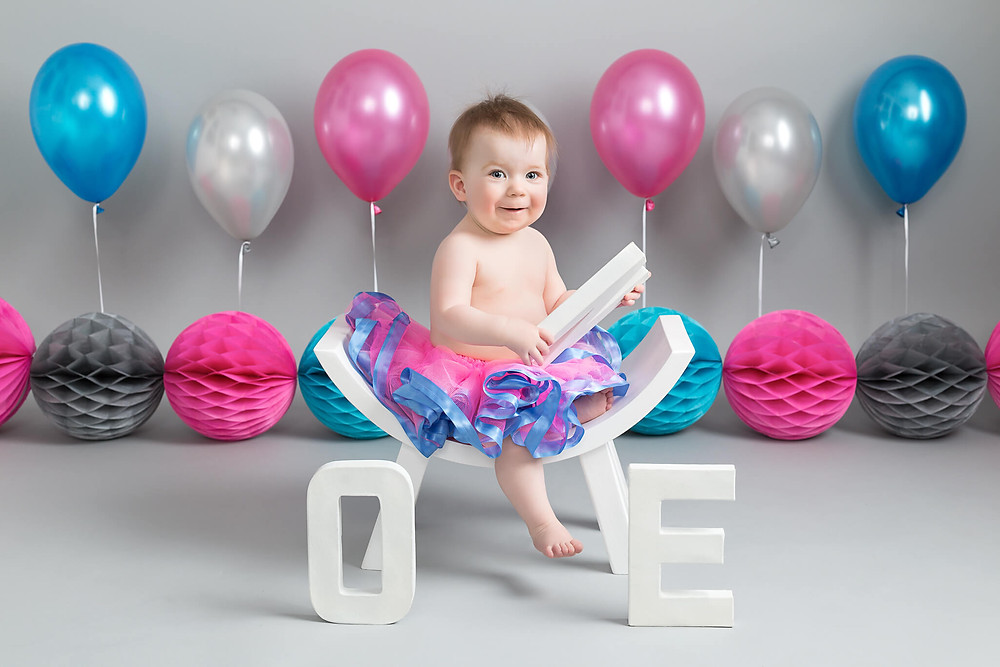 First birthday portraits at Cake Smash Photo Shoot Sheffield Rotherham Worksop Petite Portraits Photography
