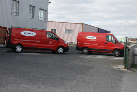 Just a Couple of Our Fleet of Vans