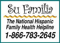 Su Familia Helpline  866-783-2645