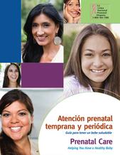 folleto hablamos sobre atención prenatal temprana y periódica guía para el tener un bebé saludable