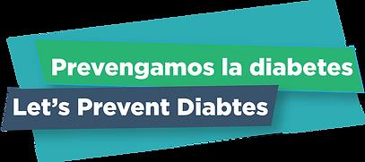 logo prevengamos la diabetis