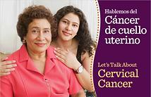 folletos sobre cáncer de cuello uterino
