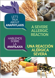 folleto hablamos sobre la anafilaxia