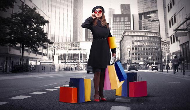 De compras en Nueva York