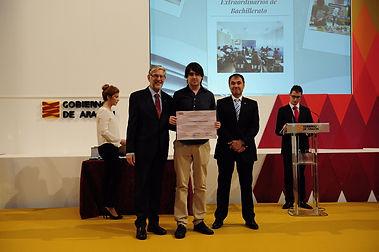 Premio Extraordinario FP Aragón 2014