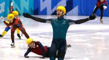 El patinador con más suerte del mundo
