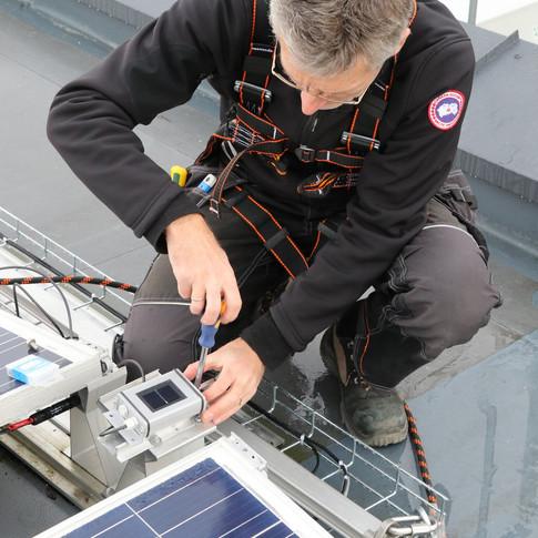 Taksikring for solcelleanlegg