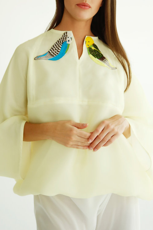 Puffy Kimono Top