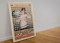 Affiche Rocknignt