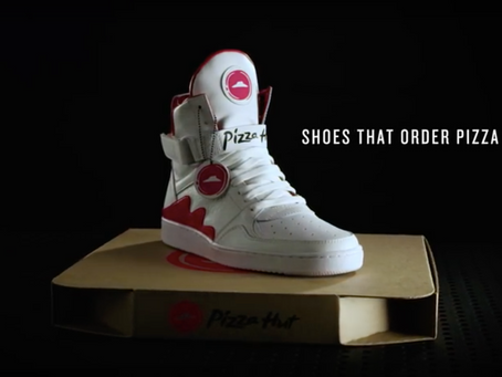 High Tops Meet Pizza in Pizza Hut's New Promotion Gimmick