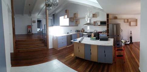 Birch Ply Kitchen