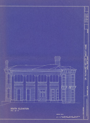 Flower Hill South Elevation Drawings