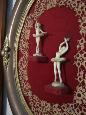 Ivory Dancing Figurines