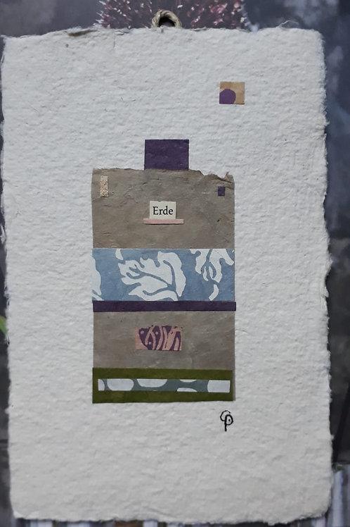 "Collage ""Erde"" - 10 x 15 cm"