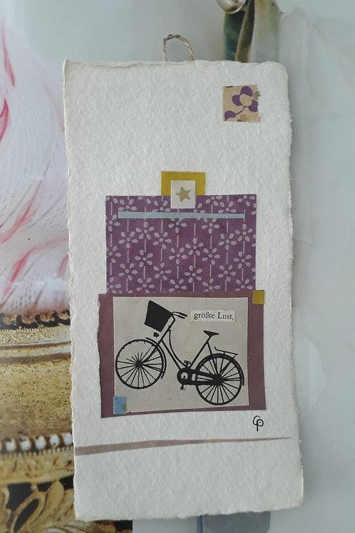 "Collage ""große Lust"" - 10 x 15 cm"