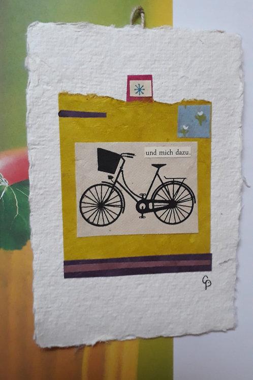"""Collage """"und mich dazu"""" - 10 x 15 cm"""