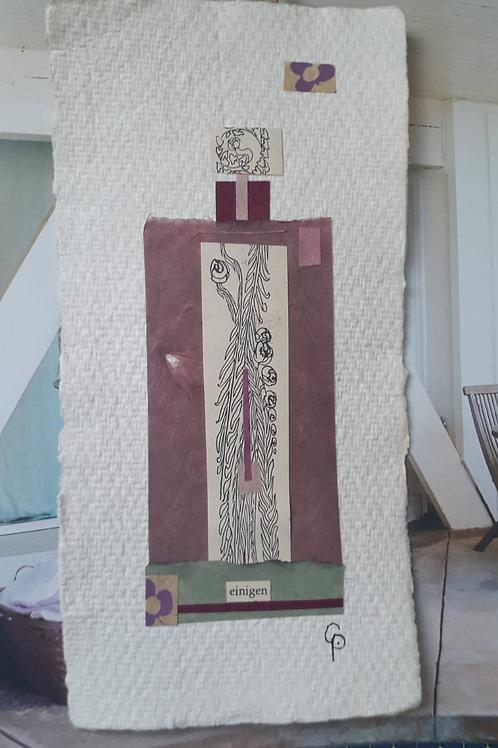 """Collage """"einigen"""" - 10 x 15 cm"""