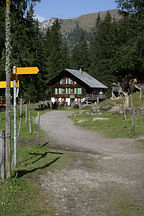 Wanderweg Lenk