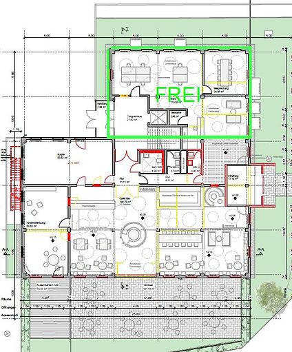 Freie Mietflächen für Büro: Erdgeschoss