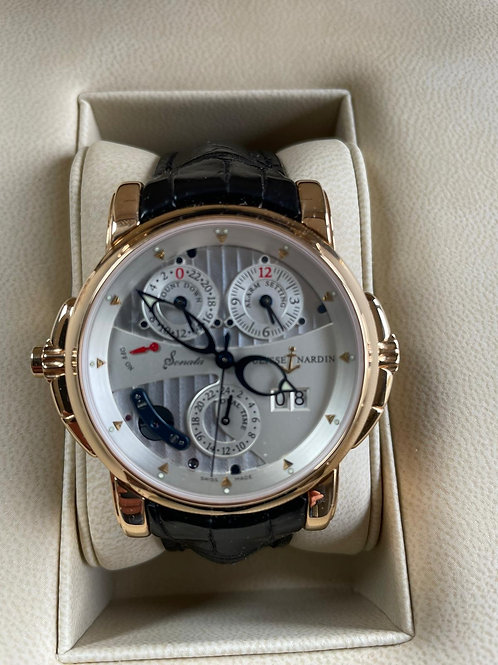 Sonata Cathedral 42mm Rose Gold Full Set LNIB Complete Set Serviced RARE