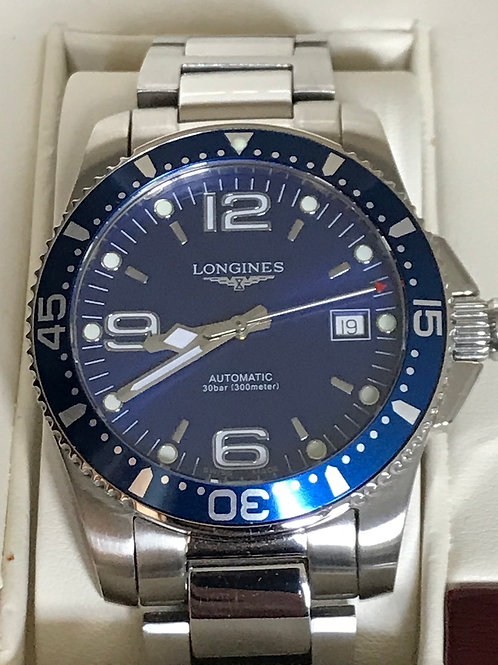 Longines HydroConquest Automatic 39mm Blue Dial SOLD