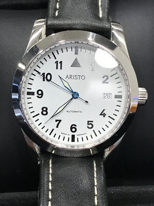 Aristo Pilot Type White Dial Automatic Micro Rotor SALE!