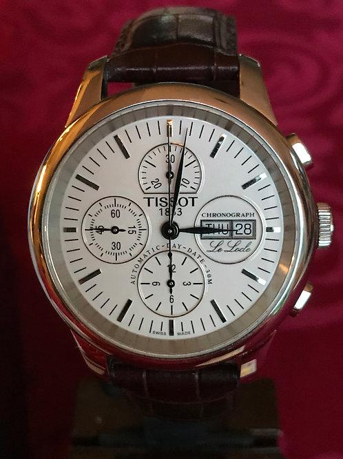 Tissot Le Locle Chronograph Automatic Valjoux 7750 Complete Unpolished SOLD