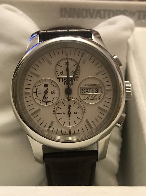 Tissot Le Locle Chronograph Automatic Valjoux 7750 Serviced + polished SOLD