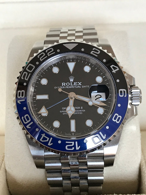 Rolex GMT-Master II BAT GIRL Complete Set 2020 EU MINT SOLD
