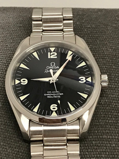 Omega Seamaster Aqua Terra Railmaster 42mm Steel Super Condition SOLD