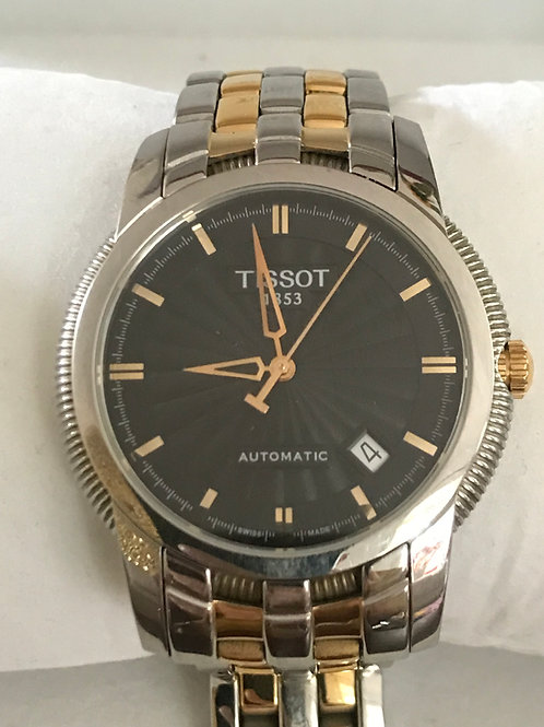Tissot Ballade III Automatic Steel/Rose Gold Plated 39.5mm Complete Set RARE