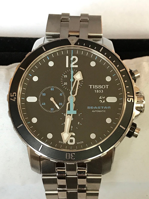 Tissot Seastar 1000 Chronograph Automatic 50mm Complete Set Rare SOLD
