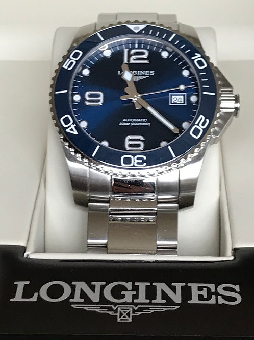 Longines HydroConquest Ceramic Blue Automatic 41mm LNIB SOLD