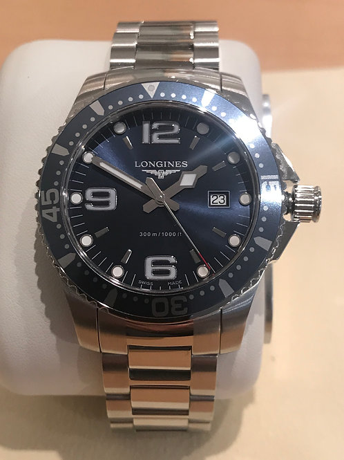 Longines HydroConquest Blue Quartz 39mm