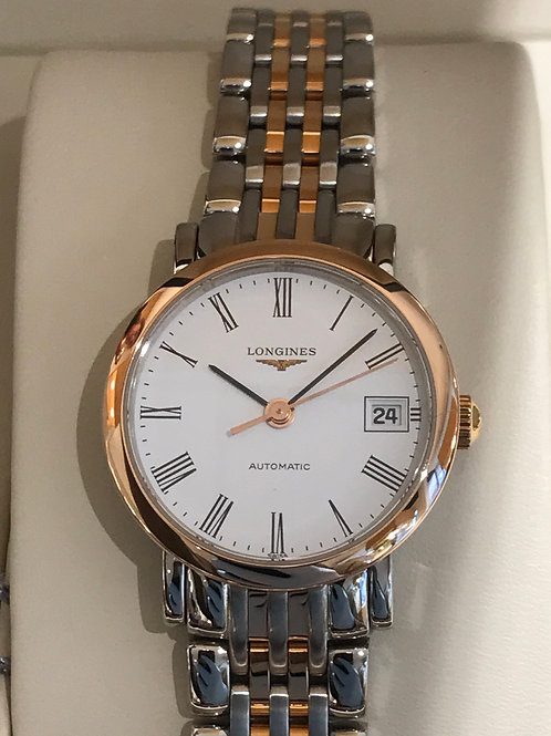 Longines Elegant 25mm Steel/Rose Gold Automatic BRAND NEW
