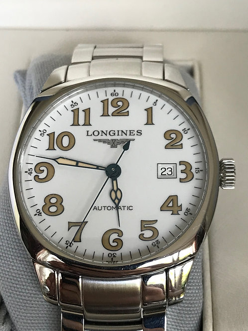 Longines Spirit Automatic Steel Complete Set White Dial SOLD