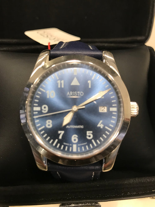 Aristo Pilot Type Blue Dial Automatic Micro Rotor SALE!