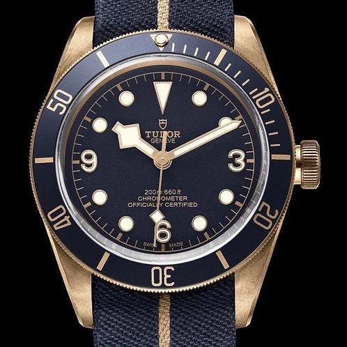 Tudor Black Bay Bronze Bucherer Blue Edition MINT Complete Set SOLD