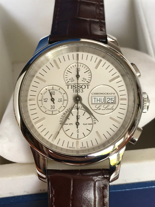 Tissot Le Locle Chronograph Automatic Valjoux 7750 SERVICED SOLD