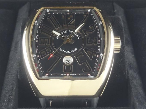 Franck Muller Vanguard Rose Gold 53mm Complete Set Mint Condition