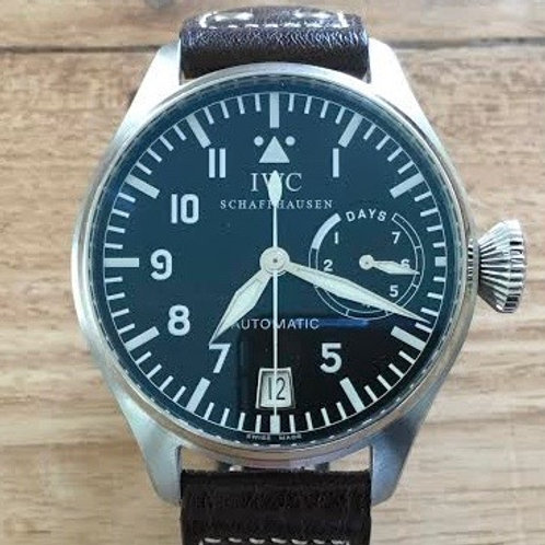 IWC Big Pilot 7 Days 5002 1ST Generation SERVICED SOLD