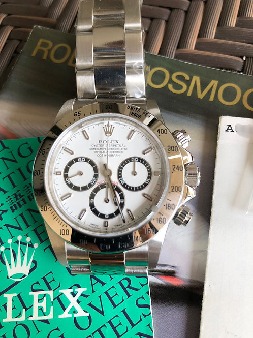 Rolex Daytona Steel 16520 Zenith Movement NOS NEW EXTREMELY COLLECTABLE