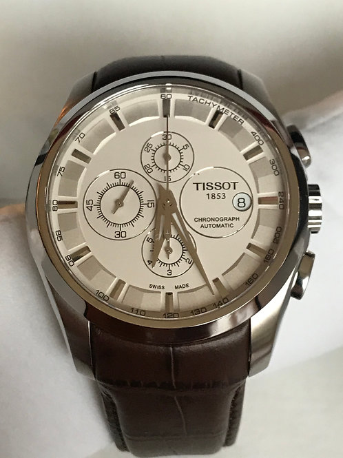Tissot Couturier 43mm Chonograph Automatic Lemania 5100 Serviced SOLD