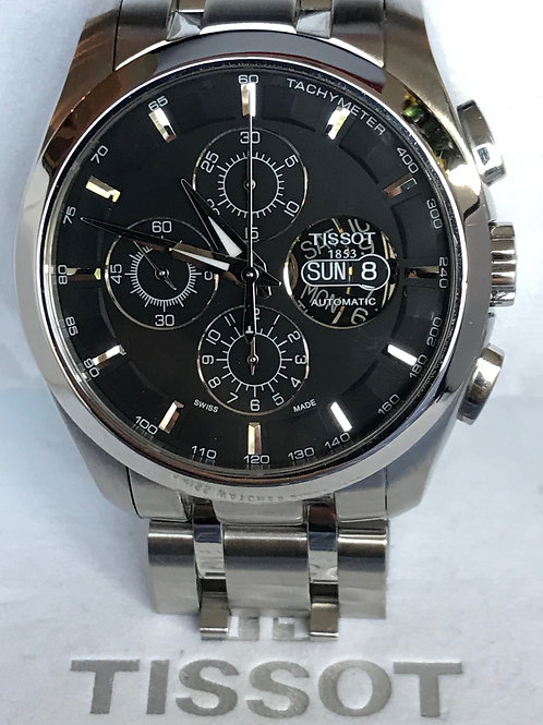 Tissot Couturier Chronograph Automatic 46mm Valjoux 7750 Serviced SOLD
