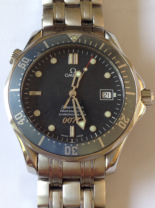 Omega Seamaster 300M 40 Years Of James Bond LTD ED SERVICED SOLD