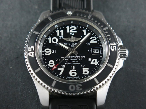 Breitling Superocean II 42mm 500 Meters Black Dial SOLD