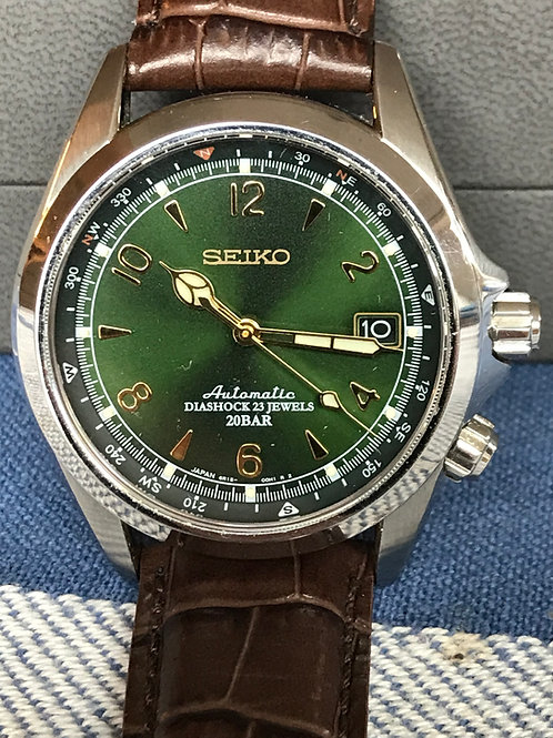 Seiko Alpinist SARB017 Green Dial Complete Set SOLD