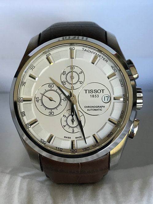 Tissot Couturier Chronograph Automatic Lemania 5100 Serviced Complete Set SOLD