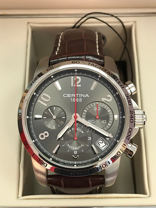Certina DS Podium Chronograph Automatic Complete Set BRAND NEW SOLD